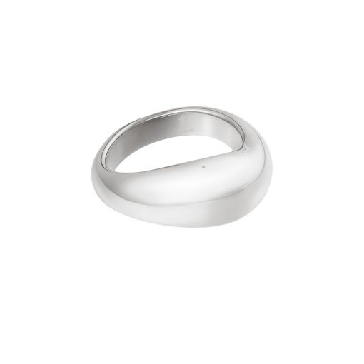 Smooth ring zilver