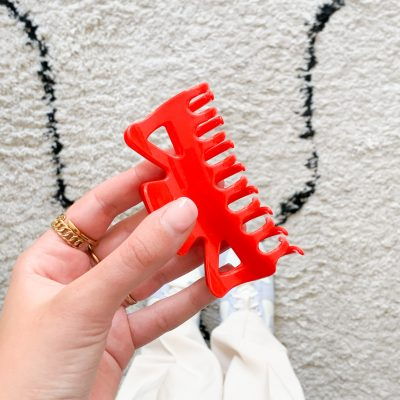 Fay clip groot rood